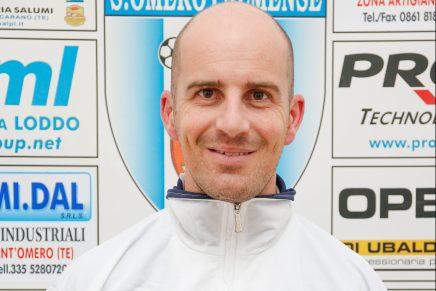Pennesi è il nuovo allenatore dell' Asd Sant'Omero Palmense