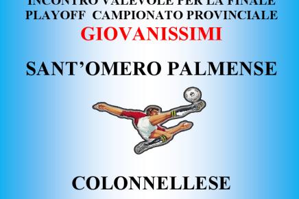 (Giovanissimi) Domenica 1 giugno finale provinciale: Sant'Omero –Colonnellese