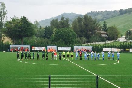 Castelnuovo Vomano – Sant'Omero Palmense 1-2 (Di Blasio,Palma)
