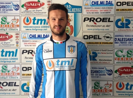 L'attaccante Danilo D'Ignazio firma per il Sant'Omero!