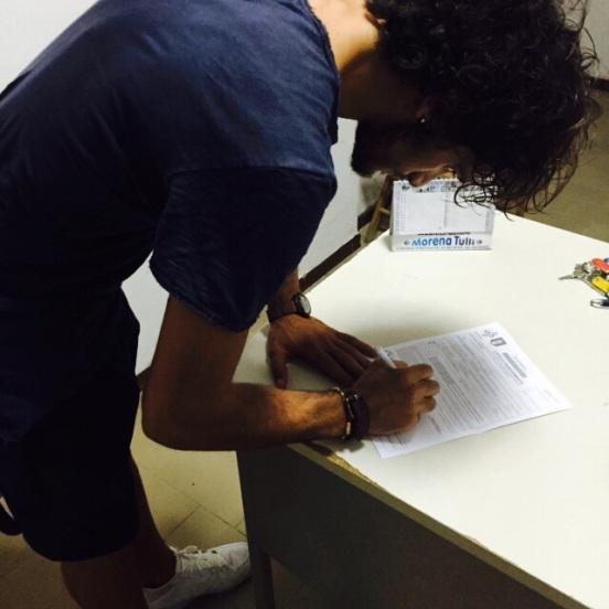 Ricci firma per la Palmense