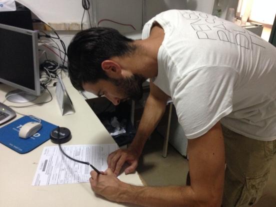 Nardini firma per il Sant'Omero Palmense