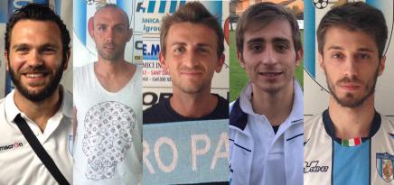 Ecco le prime conferme: Pezzoli, Casali, Antenucci, Bizzarri, D'Ippolito