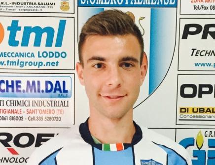 Alessio Iustini, difensore '97 ex Ascoli e Controguerra, firma per il Sant'Omero!