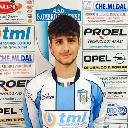 Matteo Lucantoni, portiere classe '97, passa dal Teramo al Sant'Omero
